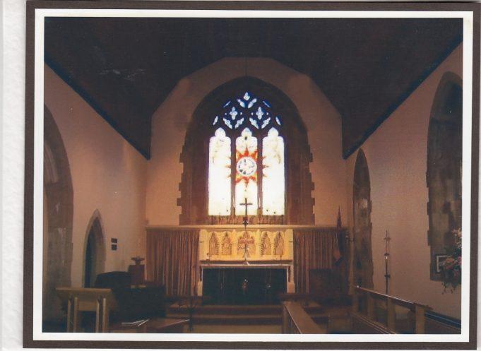 The new Millenium Window | Downham Church Collection