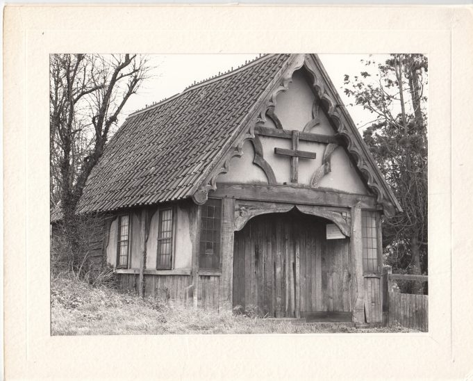 The stable before restoration | Downham Church Collection