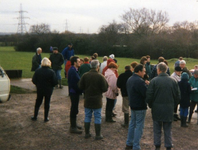 Runwell Boxing Day walk, Christmas 1994