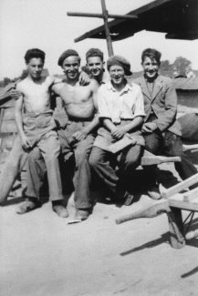 The brickfield workers and a POW | Cyril Stiles
