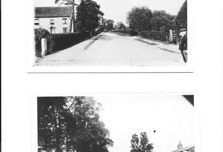 Runwell Road, looking north east.