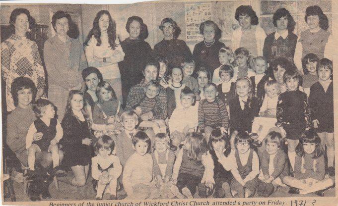 Congregational church  c1971 | Mrs G Smith