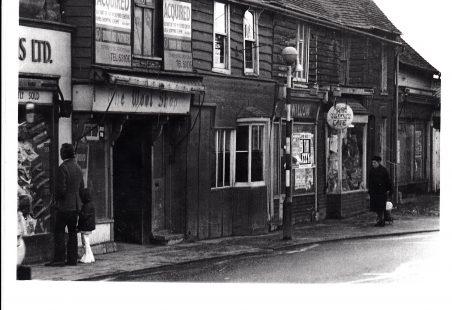 Old Weatherboard Shops