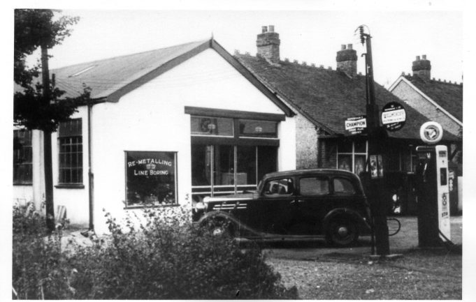 Wickford Park Garage located in Nevendon Road, at its junction with Grange Avenue