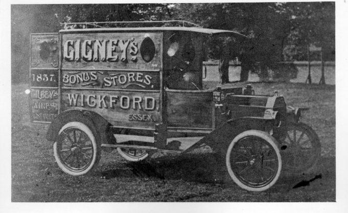 Gigneys Delivery van