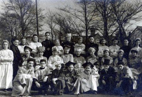 Wickford Secondary School 1951/2 - School Play,