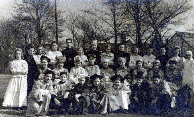 Wickford Secondary School 1951/2 - School Play,