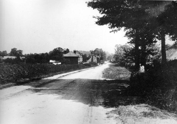 London Road looking towards Wickford
