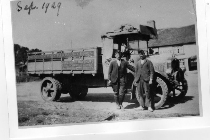 Taken in September, 1929. Who are the men?
