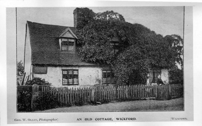 An Old Cottage, London Road