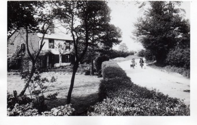 c.1912, Wickford, but where? Now confirmed as Swan Lane.
