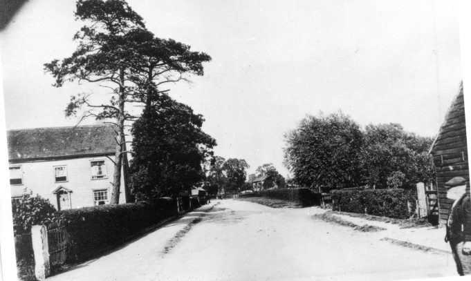 Runwell Road. Where the old man is standing was the original site for Darbys