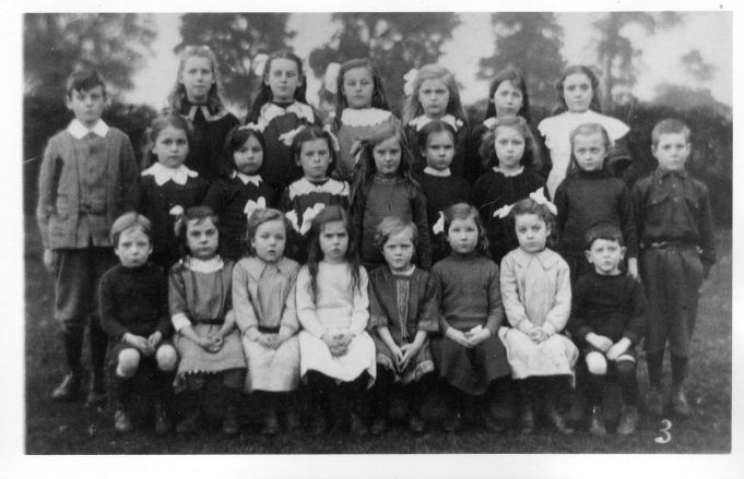 Do you recognise any of the children?