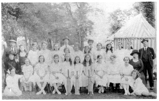 Ladies cricket.  Do you know anything about the team? | From the John Neville Collection