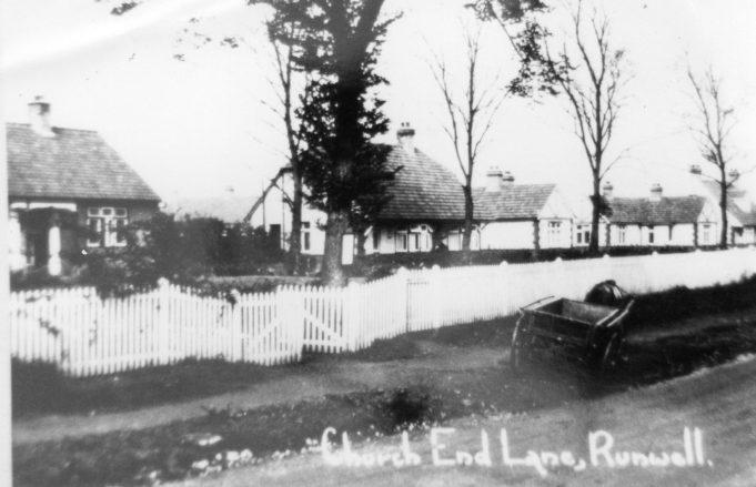 Church end lane,Runwell c1930