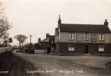 Carpenters Arms public house, Rawreth, near Wickford.