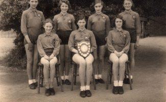 Wickford School Netball team, 1954