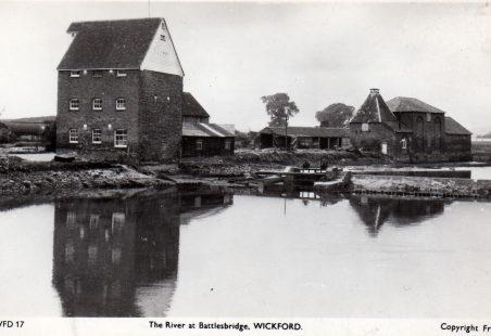 Battlesbridge Mill c 1920s/30s