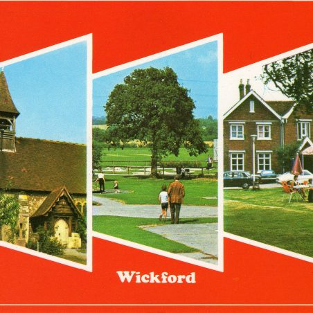 Postcard views (2) of Wickford
