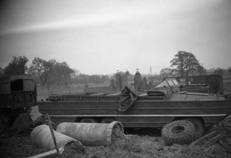 Wickford Floods and the DUKW (colloquially known as a 'Duck')