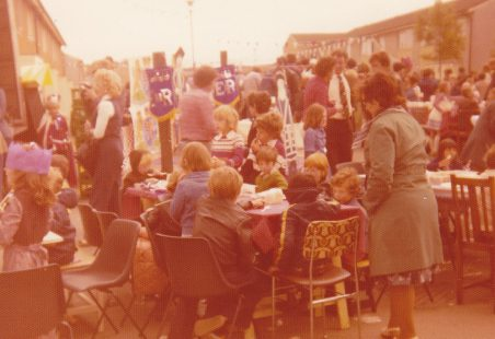 Silver Jubilee Street Party, Barn Hall Estate