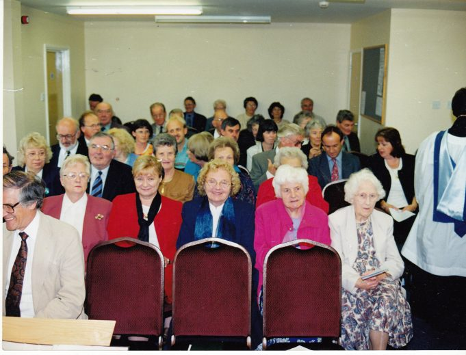 One of the many meetings that had to take place | Downham Church Collection