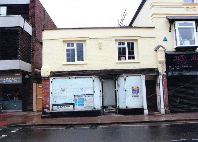 The old Bargainland shop, Wickford.