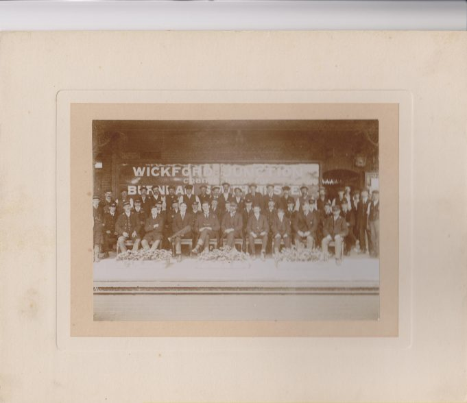 Wickford Railway Station staff at the turn of 19th and 20th century | Eileen Cox