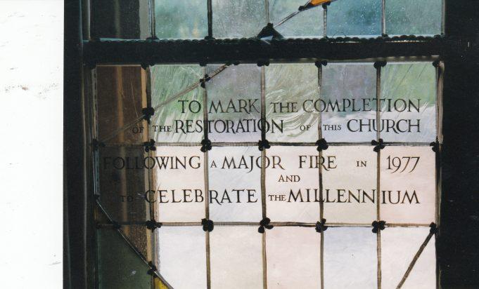 Restoration Window | Downham Church Collection