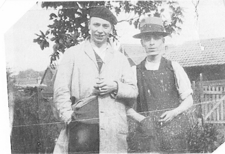 Leonard Stiff and Victor Pagram