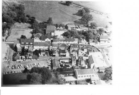 Undated aerial picture of Halls' site in Wickford