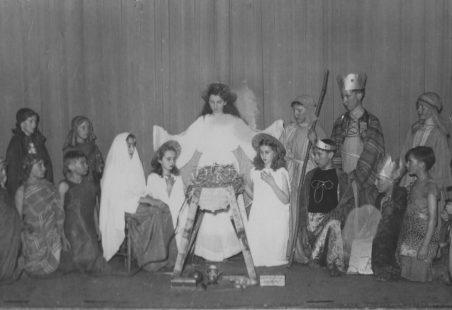 Wickford School Nativity 1952