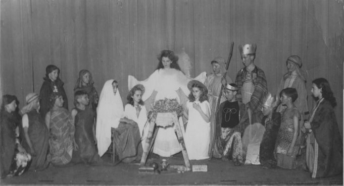Wickford School Nativity 1952 | Basildon Heritage