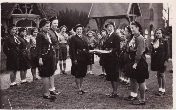 1st Wickford Guides 1949-50