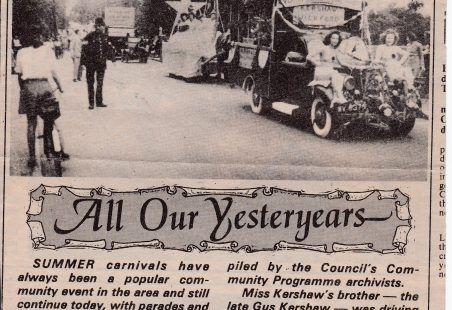 "All our Yesterdays - ""Carnivals"""