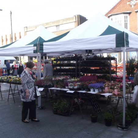Wickford Town Square market stall