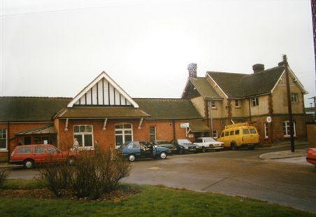 Wickford Railway Station.