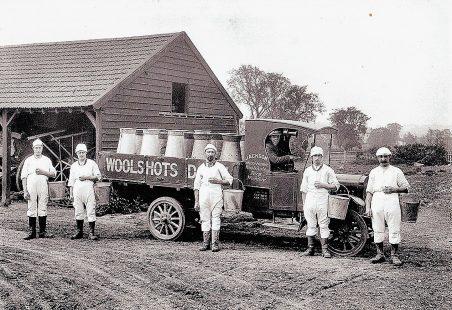 Woolshots Dairy Farm.