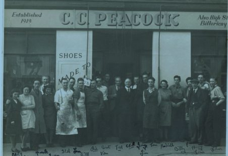 Peacock's, about 1946-47.