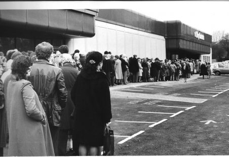 Opening of the new Key Markets store in 1981.