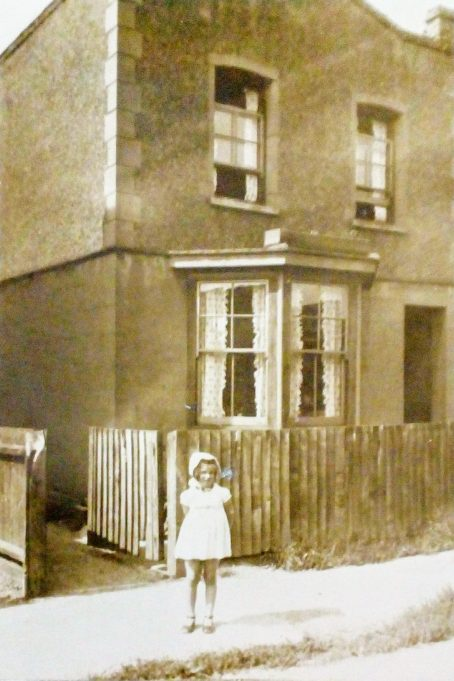 Approx 1931 Woodlands Raod Wickford taken outside Lillydene. Marina Taylor approx 2 years old. Lillydene went on to become Johnnie Newtons bookmakers on the ground floor and a self contained flat on the first floor. Next door to this stood Rose Villa where my Nan and Grandad lived, Mr & Mrs Taylor. Both properties were demolished some years back to make way for modern flats.