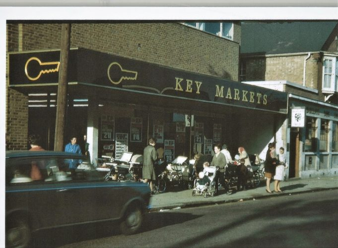 In the 1970s, Key Markets had been in  the High Street.