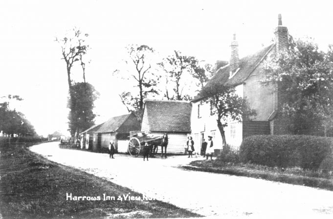This is the original Harrows pub