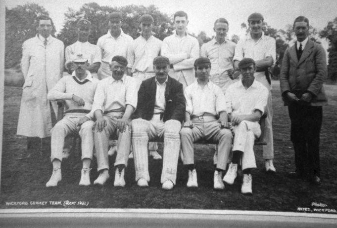 Wickford Cricket Club members WW1