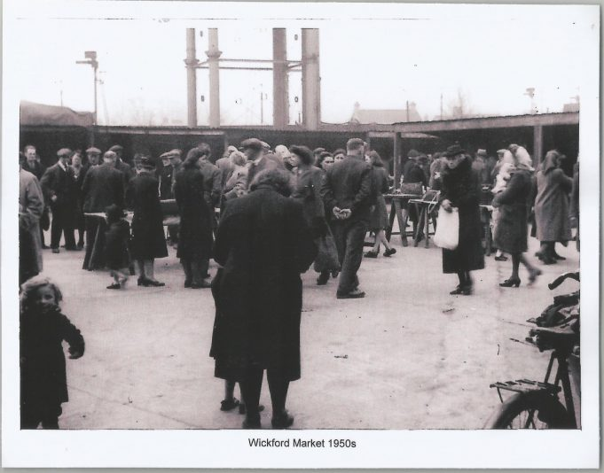 Wickford Market 1950s