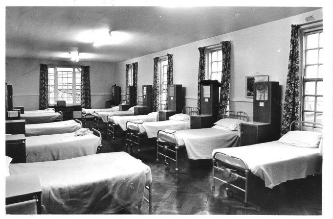 A ward (or dormitary?) Taken in 1984.