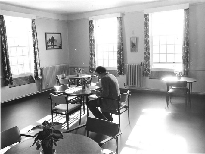 A dining room or quiet area? (1980)