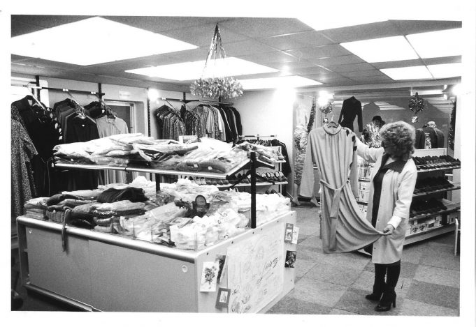 Runwell Hospital's new shop. Taken in 1982.