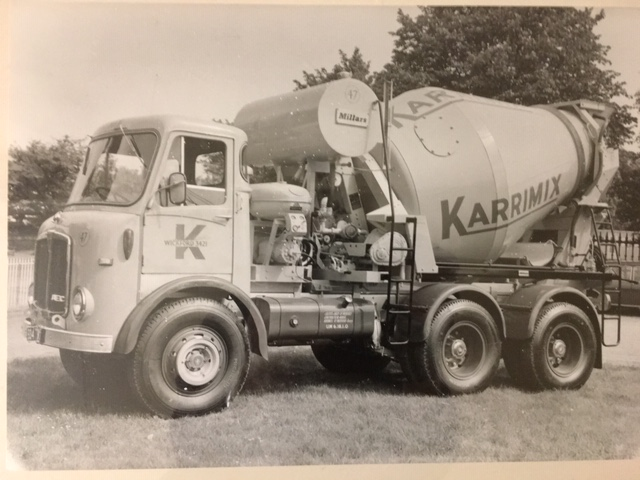 An early Karrimix lorry. | Peter Carter