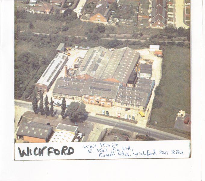 KeilKraft Works, Russell Gardens, Wickford